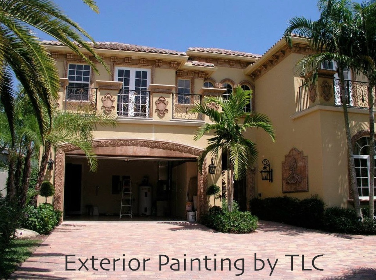 Exterior: Florida Painting Contractor Service For Exterior House