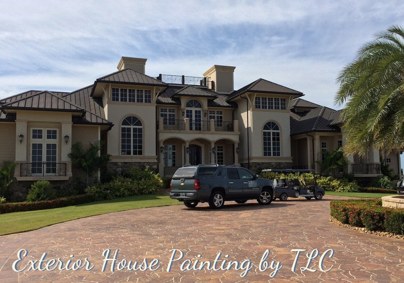 Florida Painting Contractor Service For Exterior House Painting Custom Trim Faux Paint And