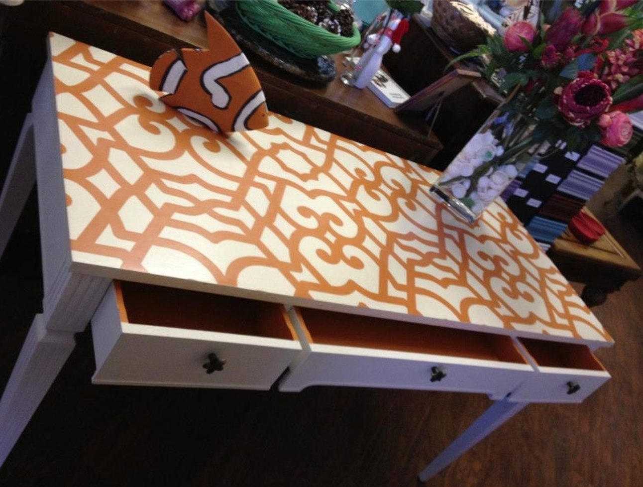 Hand painted furniture in Fort Lauderdale