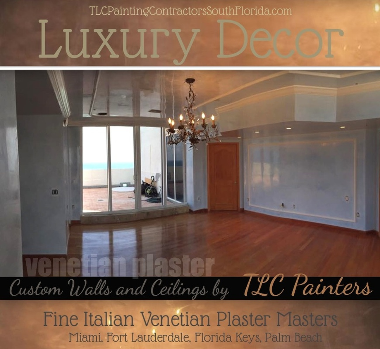 Venetian plaster in Palm Beach, Miami and Fort Lauderdale
