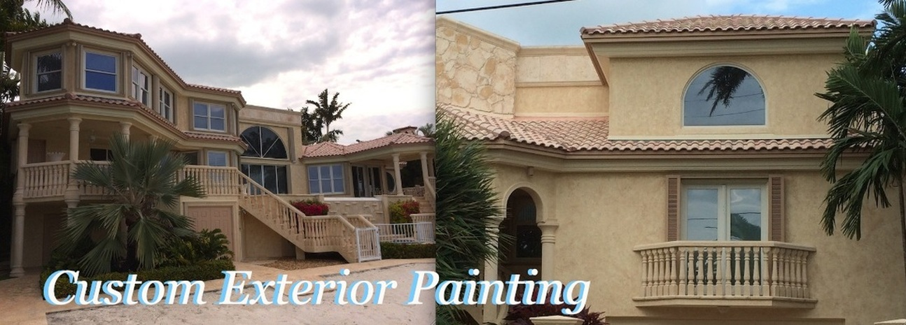 Exterior house painting in south Florida