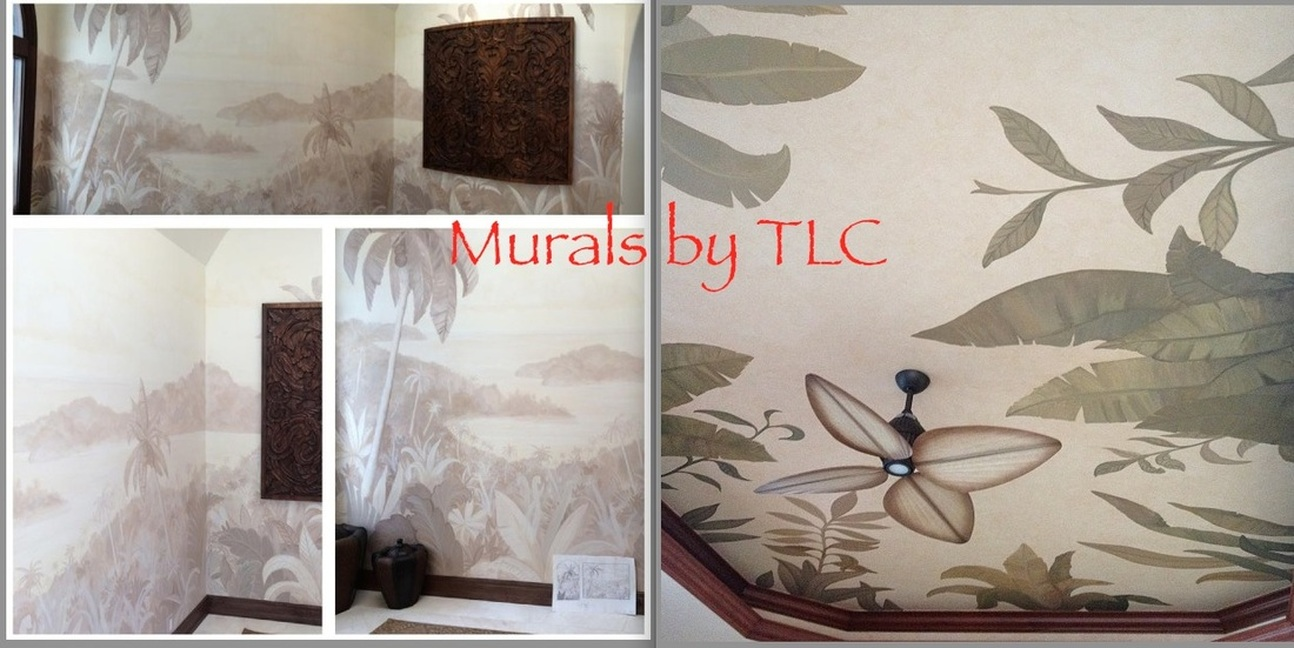 Mural painting in Miami and Florida Keys