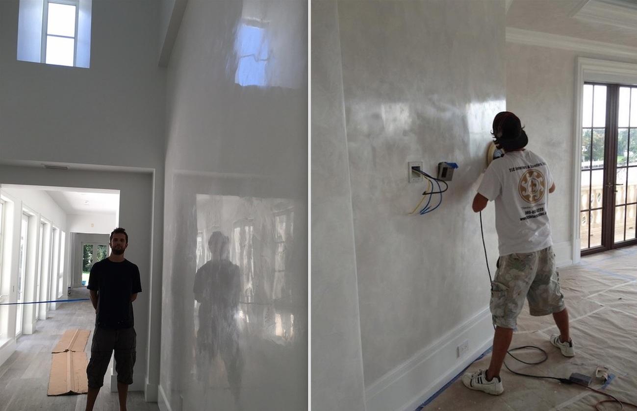 expert venetian plaster italian marmorino plasters. Black Bedroom Furniture Sets. Home Design Ideas